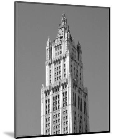 Woolworth Building, New York-Phil Maier-Mounted Art Print