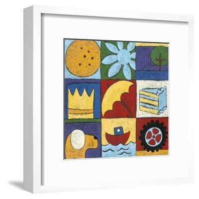 Tell me a story II-Chariklia Zarris-Framed Art Print