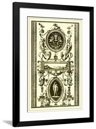 Ivory Screen II--Framed Giclee Print