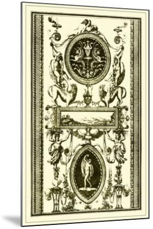 Ivory Screen II--Mounted Giclee Print