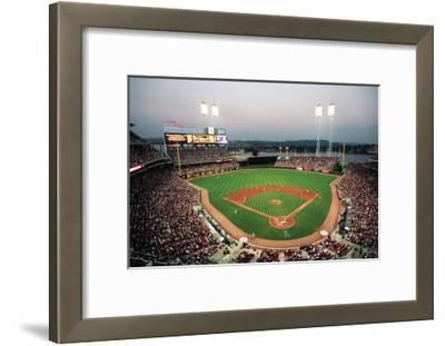 Great American Ball Park, Cincinnati-Ira Rosen-Framed Art Print