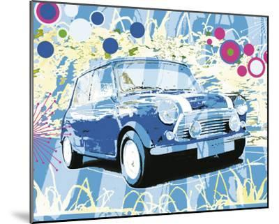 Vintage Mini Cooper-Michael Cheung-Mounted Art Print