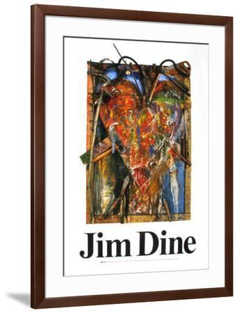 Untitled-Jim Dine-Framed Art Print
