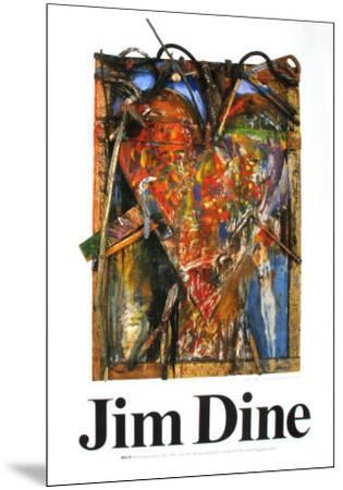 Untitled-Jim Dine-Mounted Art Print