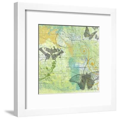Butterflies II-Jan Weiss-Framed Art Print