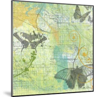 Butterflies II-Jan Weiss-Mounted Art Print