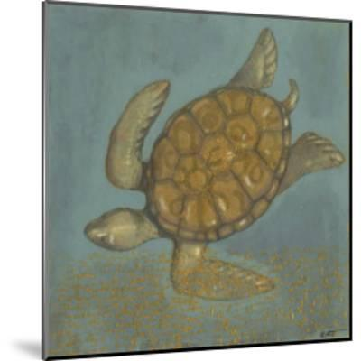 Sea Turtle II-Norman Wyatt Jr^-Mounted Art Print