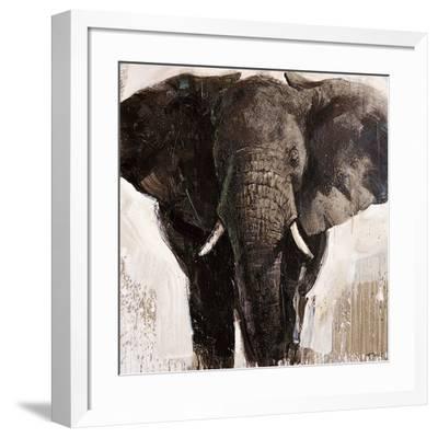 Elephant-Emmanual Michel-Framed Art Print
