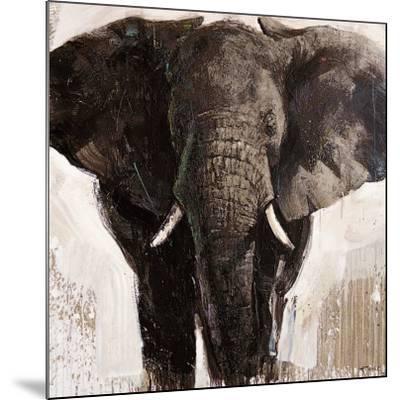 Elephant-Emmanual Michel-Mounted Art Print