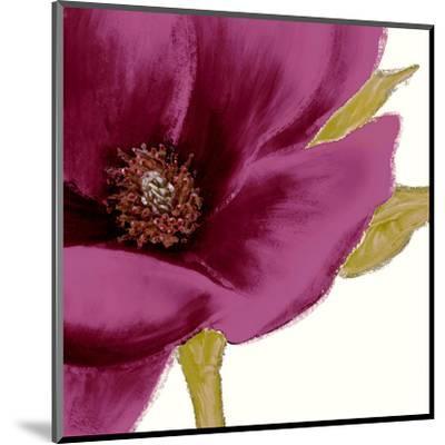 Grandiflora Blush I-Linda Wood-Mounted Art Print
