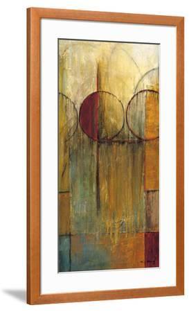 Slender Friends II-Mike Klung-Framed Art Print
