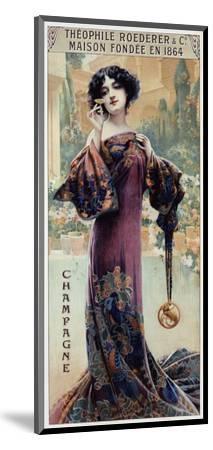 Champagne Roederer-Gaspar Camps-Mounted Art Print