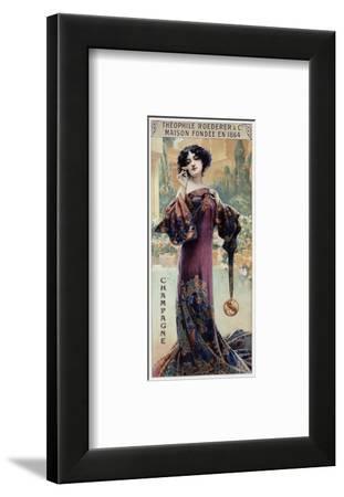 Champagne Roederer-Gaspar Camps-Framed Art Print