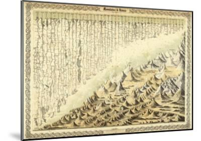 Mountains & Rivers, c.1856-G^ W^ Colton-Mounted Art Print