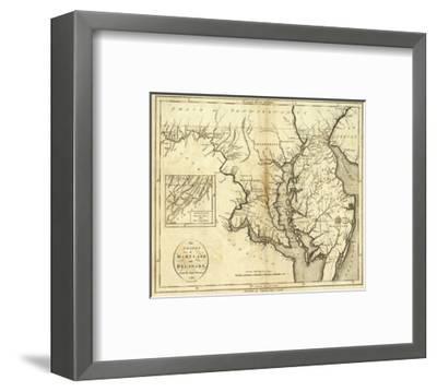 States of Maryland and Delaware, c.1796-John Reid-Framed Art Print