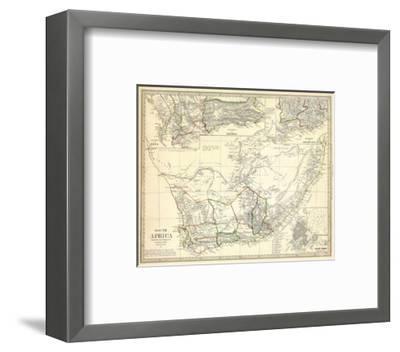 South Africa, c.1834--Framed Art Print