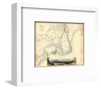 Syracuse, Italy, c.1839--Framed Art Print
