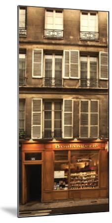 Boulangerie-Jim Chamberlain-Mounted Art Print