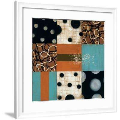 Mosaic II-Anka-Framed Art Print