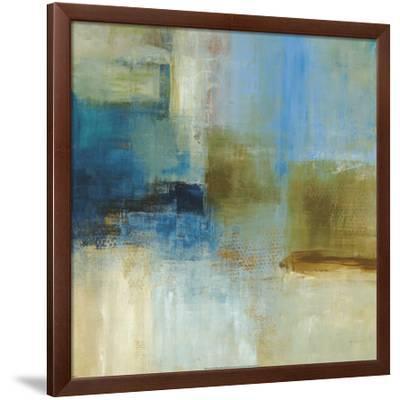 Blue Abstract-Simon Addyman-Framed Art Print