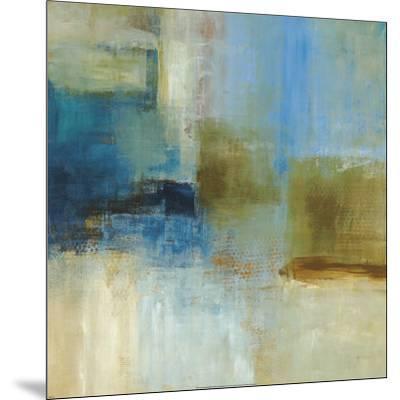 Blue Abstract-Simon Addyman-Mounted Art Print