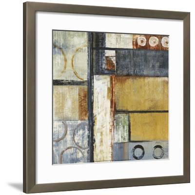 Coincidental Lines II-Carol Black-Framed Art Print