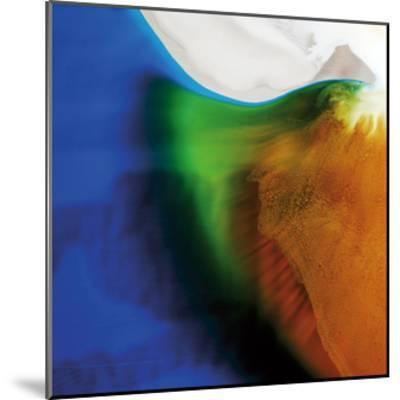 Blue, Green, and Orange Flow, c.2008-Pier Mahieu-Mounted Premium Giclee Print