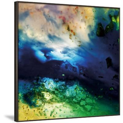 Colorful Flowing Abstract, c.2008-Pier Mahieu-Framed Premium Giclee Print