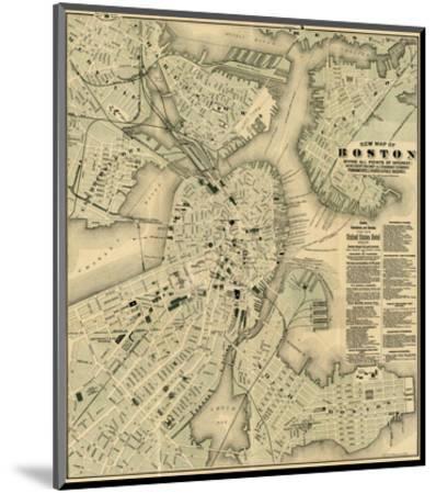 Boston, Massachusetts, c.1884-Tilly Haynes-Mounted Art Print