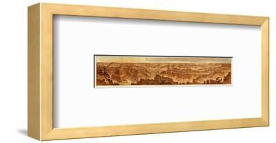 Grand Canyon: Composite Panorama from Point Sublime, c.1882-William Henry Holmes-Framed Art Print