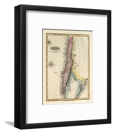 Chili, c.1823-Fielding Lucas-Framed Art Print