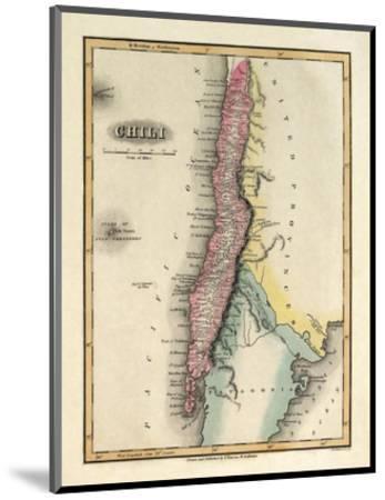 Chili, c.1823-Fielding Lucas-Mounted Art Print