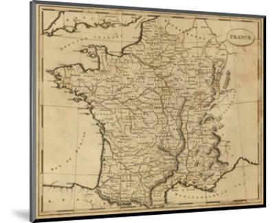 France, c.1812-Aaron Arrowsmith-Mounted Art Print