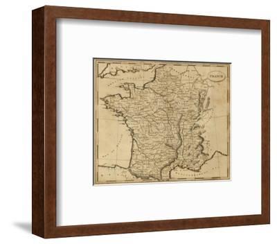 France, c.1812-Aaron Arrowsmith-Framed Art Print