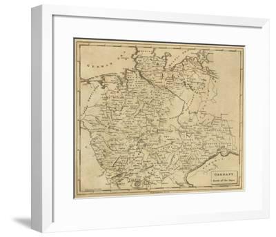 Germany North, c.1812-Aaron Arrowsmith-Framed Art Print