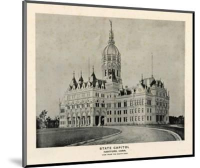 State Capitol, Hartford, Connecticut, c.1893--Mounted Art Print