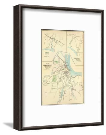 Middletown, Connecticut, c.1893--Framed Art Print