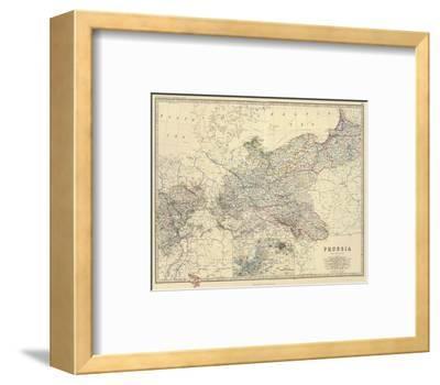 Prussia, c.1861-Alexander Keith Johnston-Framed Art Print