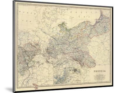 Prussia, c.1861-Alexander Keith Johnston-Mounted Art Print