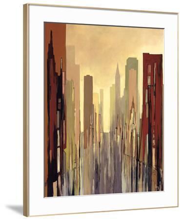 Metropolitan View-Gregory Lang-Framed Art Print