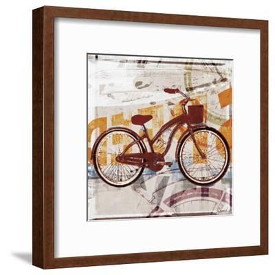 Cruising-Noah Li-Leger-Framed Art Print