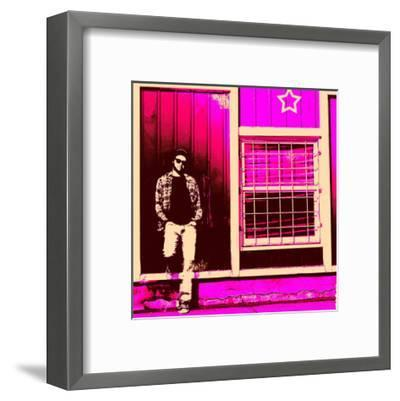 Starchill in Pink-Pascal Normand-Framed Art Print