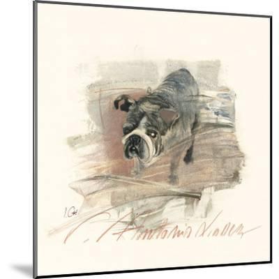 Calle Antonio Valdez-Ines Champagne-Mounted Art Print
