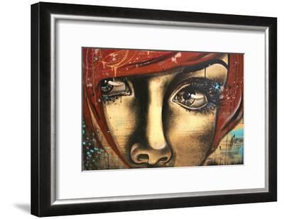 Levres Fanees-Vicky Filiault-Framed Art Print