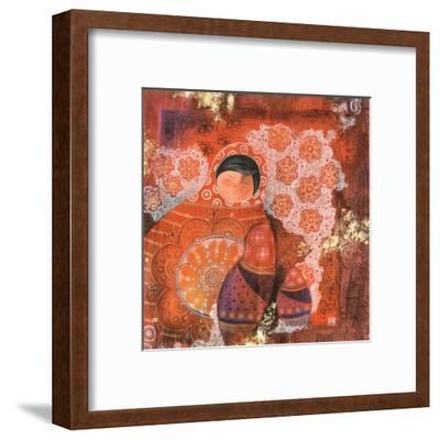 Bavardages-Marie-pierre Emorine-Framed Art Print