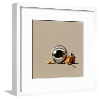 Mandarine et Boule-Bedarrides-Framed Art Print