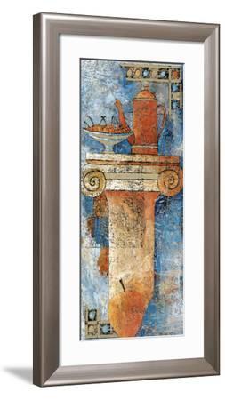 Still Life and Capital I-Elio Torre Della-Framed Art Print