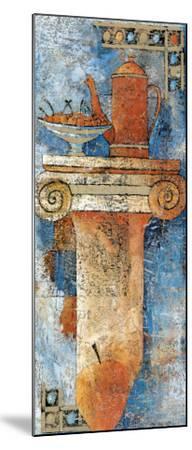 Still Life and Capital I-Elio Torre Della-Mounted Art Print