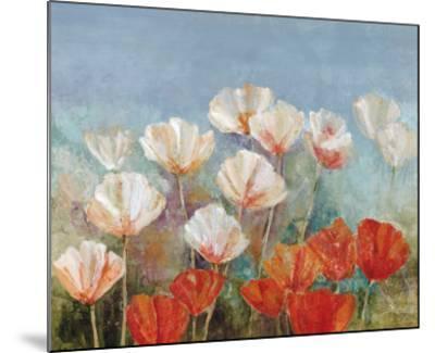 Blushing Poppies-Angellini-Mounted Art Print