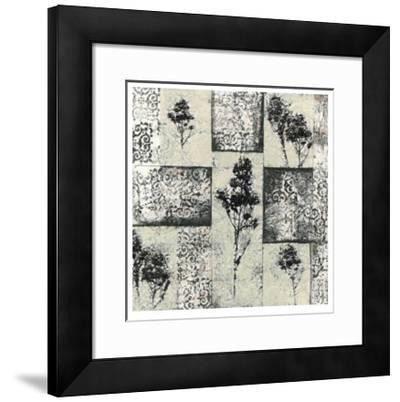 Toile Redone III-Jennifer Goldberger-Framed Limited Edition
